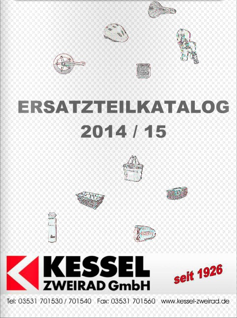 kessel zweirad gmbh fahrrad grosshandel katalog f r den. Black Bedroom Furniture Sets. Home Design Ideas